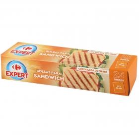 Bolsas para sandwich Carrefour 25 ud.