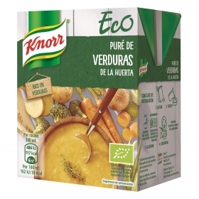 Puré de verduras de la huerta ecológico Knorr 300 ml.