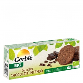 Galletas de chocolate negro intenso ecológicas Cereal Bio 132 g.
