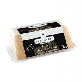 Foie gras de pato con armañac y pimienta bloc Jean Larnaudie 170 g