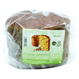 Pannetone de fruta clásico 600 g sin gluten
