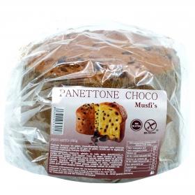 Pannetone de chocolate 600 g sin gluten
