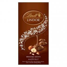 Bombones de chocolate con leche y avellana Lindt Lindor 100 g.