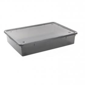 Caja Plástico  Basic Box  55 l- Fume