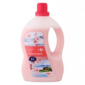 Detergente líquido cerezas de Japón Carrefour 40 lavados.