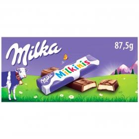 Barrita de chocolate con corazón de leche Milka 8 ud.