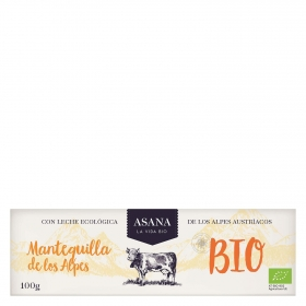 Mantequilla ecológica Asana 100 g.