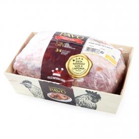Redondo de pavo con relleno de bacon y dátiles 300 g