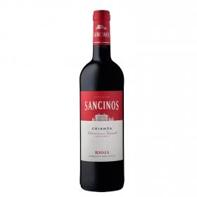 Vino D.O. Rioja  tinto Crianza Sancinos 75 cl.