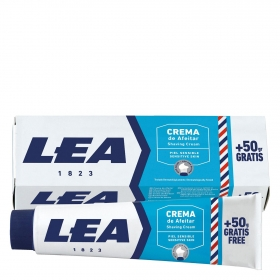 Crema de afeitar piel sensible Lea 150 g.