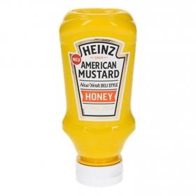 Salsa miel y mostaza Heinz envase 240 g.