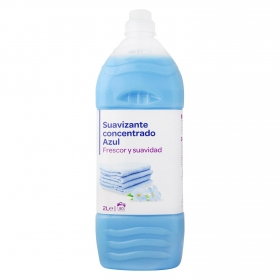 Suavizante concentrado azul 80 lavados.