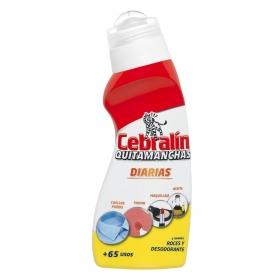 Quitamanchas diarias líquido Cebralín 150 ml.