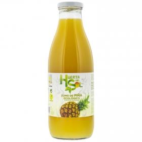 Zumo de piña ecológico Huerta del Sol botella 1 l.
