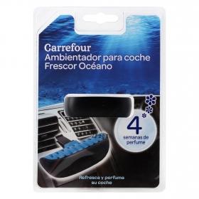 Ambientador para coche Frescor Océano Carrefour 1 ud.