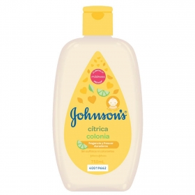 Colonia suave para bebé cítrica Johnson's Baby 750 ml.