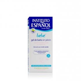 Gel de baño sin jabón recién nacido pieles sensible y atópicas Instituto Español 500 ml.