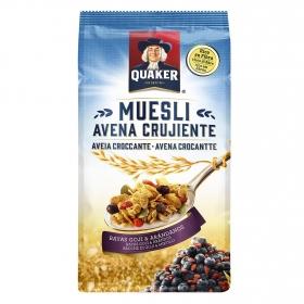 Cereales con bayas goji y arándanos Muesli Quaker 350 g.