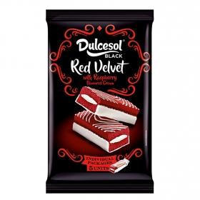 Bizcocho red velvet DulceSol 175 g.