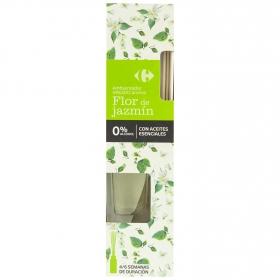 Ambientador varillas flor de jazmín Carrefour 45 ml.