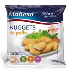Nuggets de pollo Maheso 500 g.