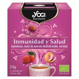Infusión inmunidad y salud en bolsitas ecológica Yogi 12 ud.