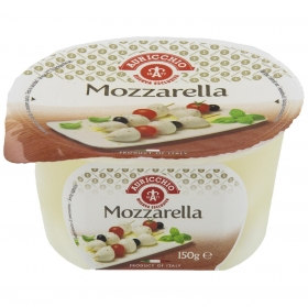Queso Mozzarella en perlas Hispano Italiana 150 g