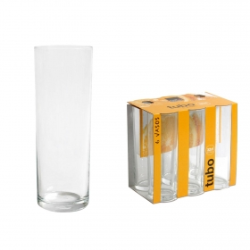 Set Vasos Tubo ROYAL LEERDARM 32 cl 6 ud- Transparente