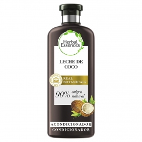 Acondicionador Hidrata Leche de coco bío:renew Herbal Essences 400 ml.