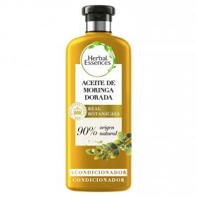 Acondicionador Suave Aceite de moringa dorada bío:renew Herbal Essences 400 ml.
