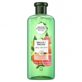Champú Volumen Pomelo blanco & menta mosa bío:renew Herbal Essences 400 ml.