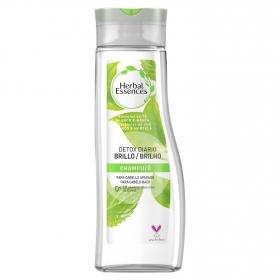 Champú té blanco & menta Detox diario Brillo Herbal Essences 400 ml.