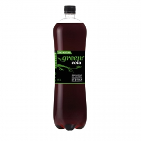 Refresco de cola Green Cola botella 1,5 l.