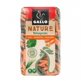 Macarrones Multivegetales Nature Gallo 400 g.