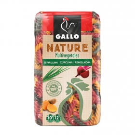 Espirales vegetales Gallo Nature 400 g.