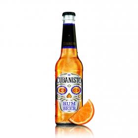 Cerveza Rum Cubanisto botella 33cl.