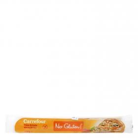 Masa brisa Carrefour No gluten sin gluten 230 g.