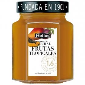 Confitura de frutas tropicales Helios sin gluten 330 g.