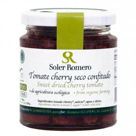 Tomate cherry seco confitado ecológico Soler Romero 150 g.