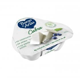 Queso fresco de cabra Burgo de Arias pack de 3 unidades de 70 g.