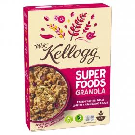 Cereales con espelta y arándanos rojos W.K Kellogg 300 g.