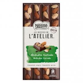 Chocolate negro con almendras tostadas Nestlé 195 g.