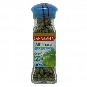 Albahaca liofilizada Cannamela 4 g.