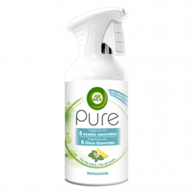Ambientador Pure Refrescante Flor de Limón Air Wick 250 ml.