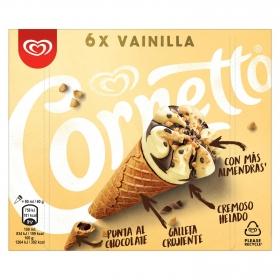 Conos con helado de vainilla Cornetto 6 ud.