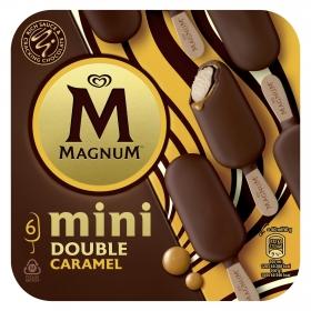 Mini bombón helado Double Caramel Magnum 6 ud.