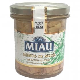 Lomos de melva en aceite de oliva virgen Miau 210 g.