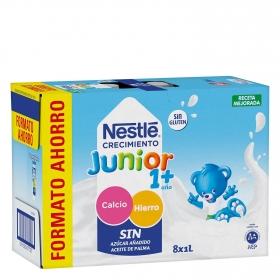 Leche Junior Original 1+ Nestlé 8x1L