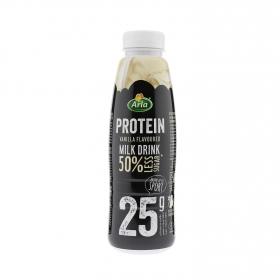 Batido de proteínas sabor vainilla 50% menos azúcar Arla 500 g.