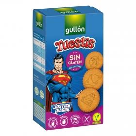 Galletas Tuesti Gullón sin gluten y sin lactosa 400 g.
